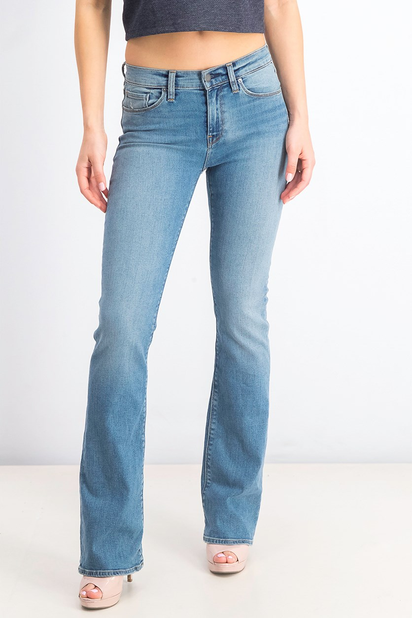 Women's Headliner Bootcut Jeans, Washed Blue