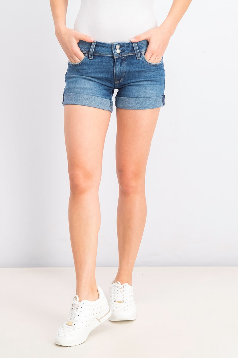 Women's Croxley Rolled Shorts, Earn