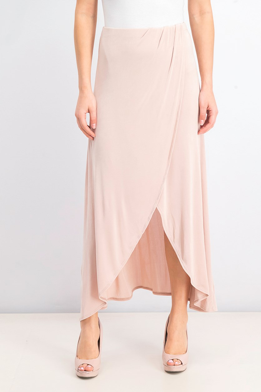 Women's Smoke & Mirrors Faux Wrap Skirt, Dusty Dogwood