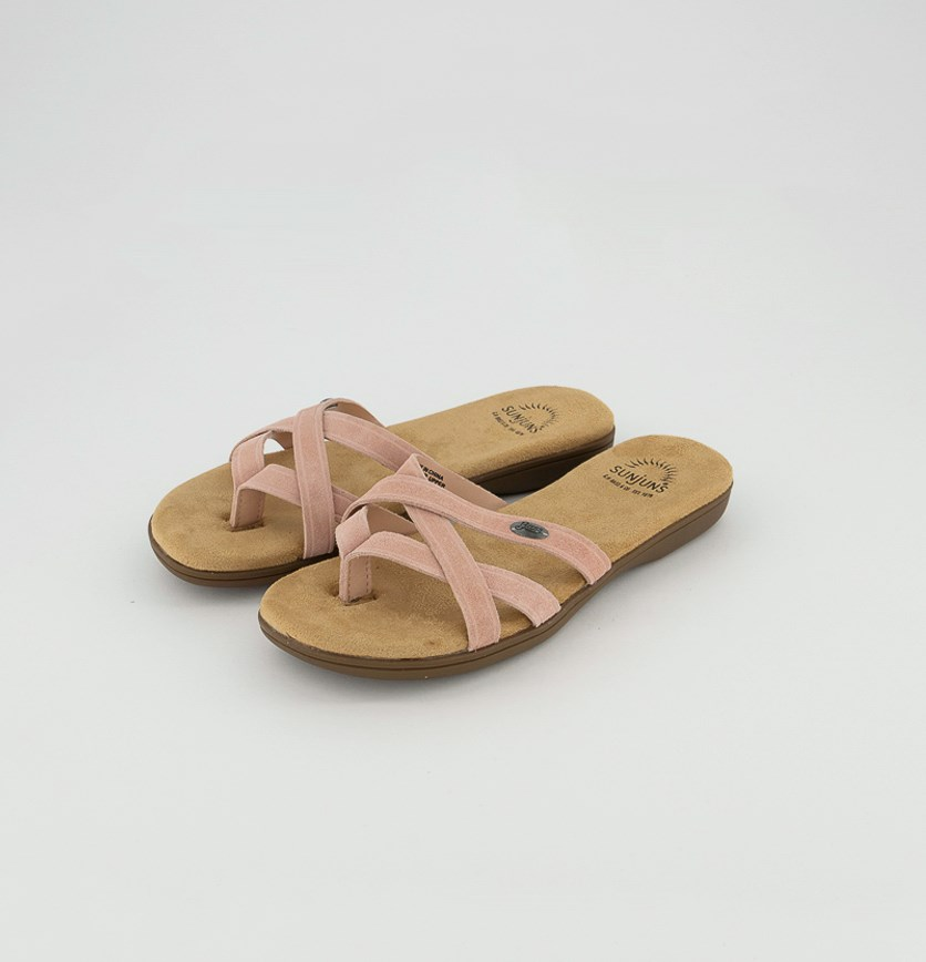 Women's Bass Sharon II Slippers, Pink