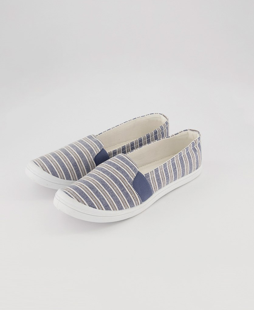 Women's Jess Slip On Shoes, Stripe