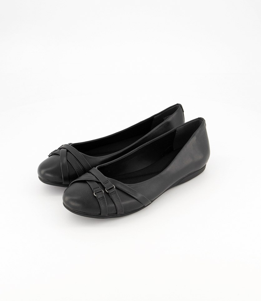 Women's Bass Madison Flats, Black