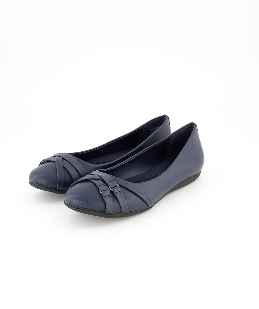 Women's Bass Madison Flats, Navy