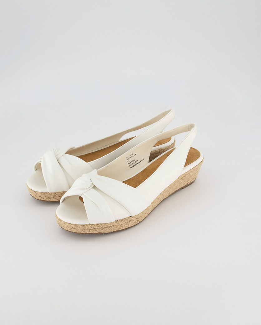 Women's Bass Natalie Wedge Sandals, White