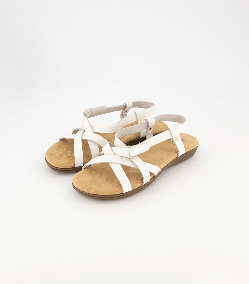 Women's Bass Margie II Sandals, White