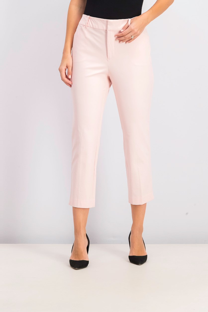 Women's Newport Tummy-Control Cropped Pants, Misty Pink
