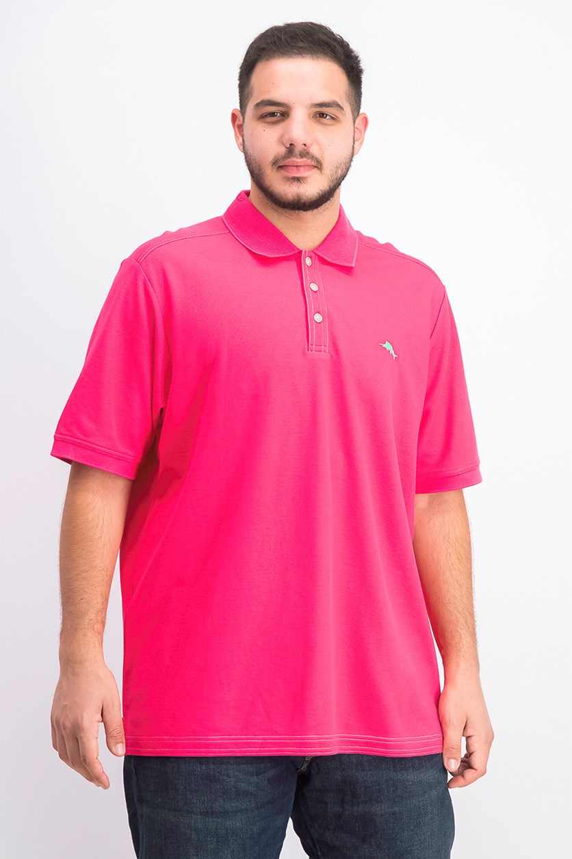 Men's Emfielder 2.0 Polo, Pink