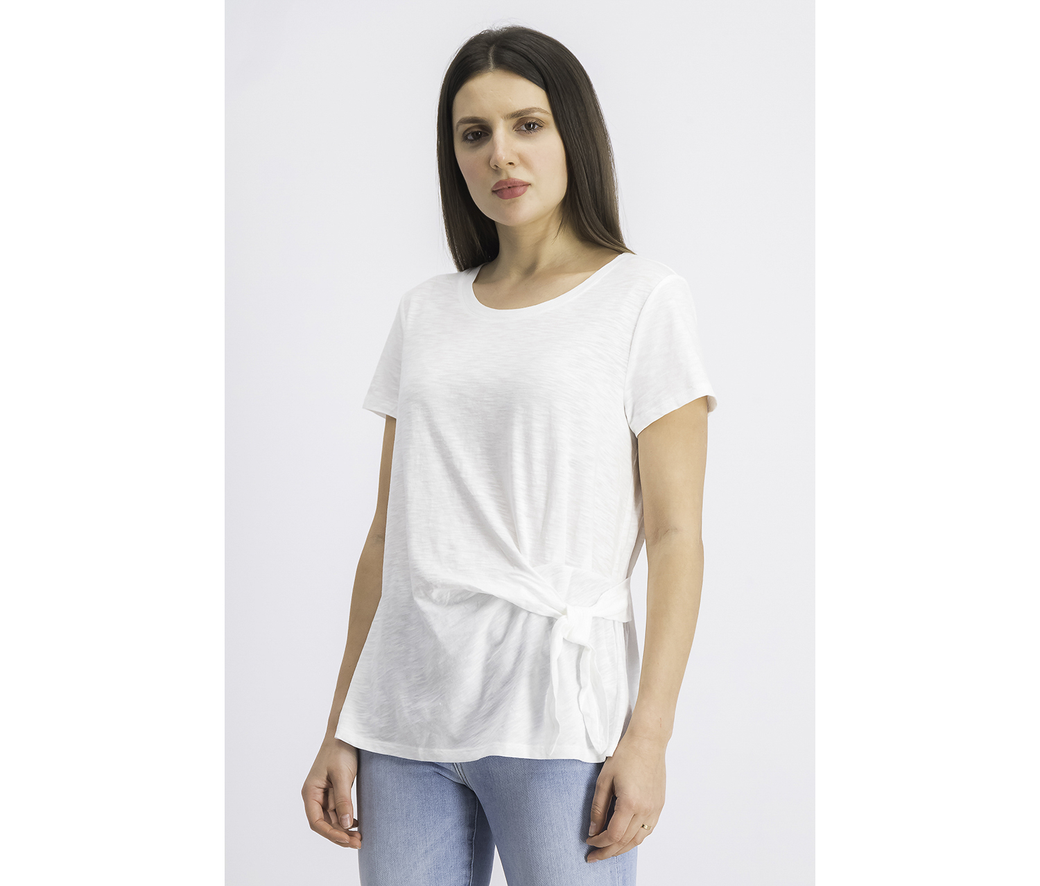 Women's Short Sleeves, Winter White