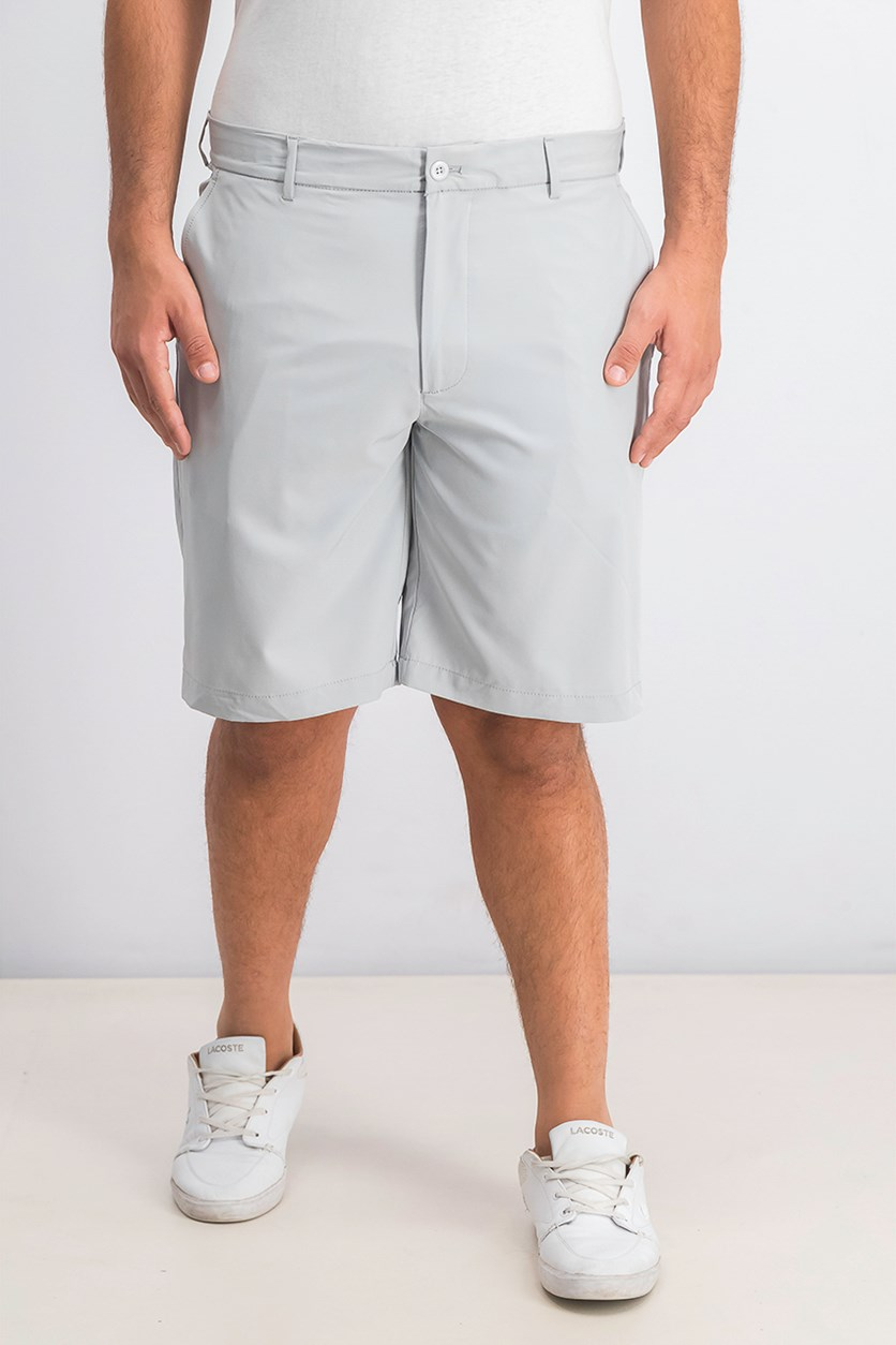 Men's Rapi Dry Flat-Front Performance Shorts, Misty Harbor