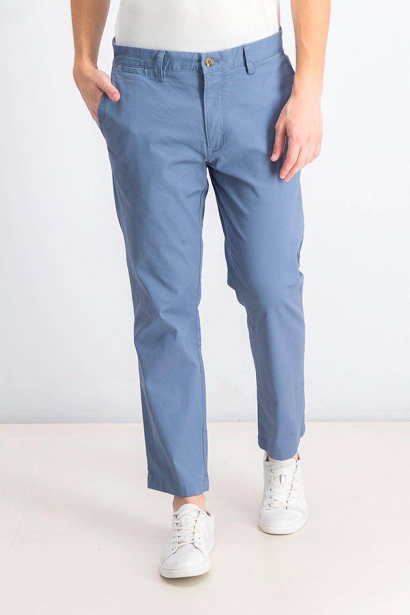Men's Classic Fit Chino Pants, Wedgewood Blue