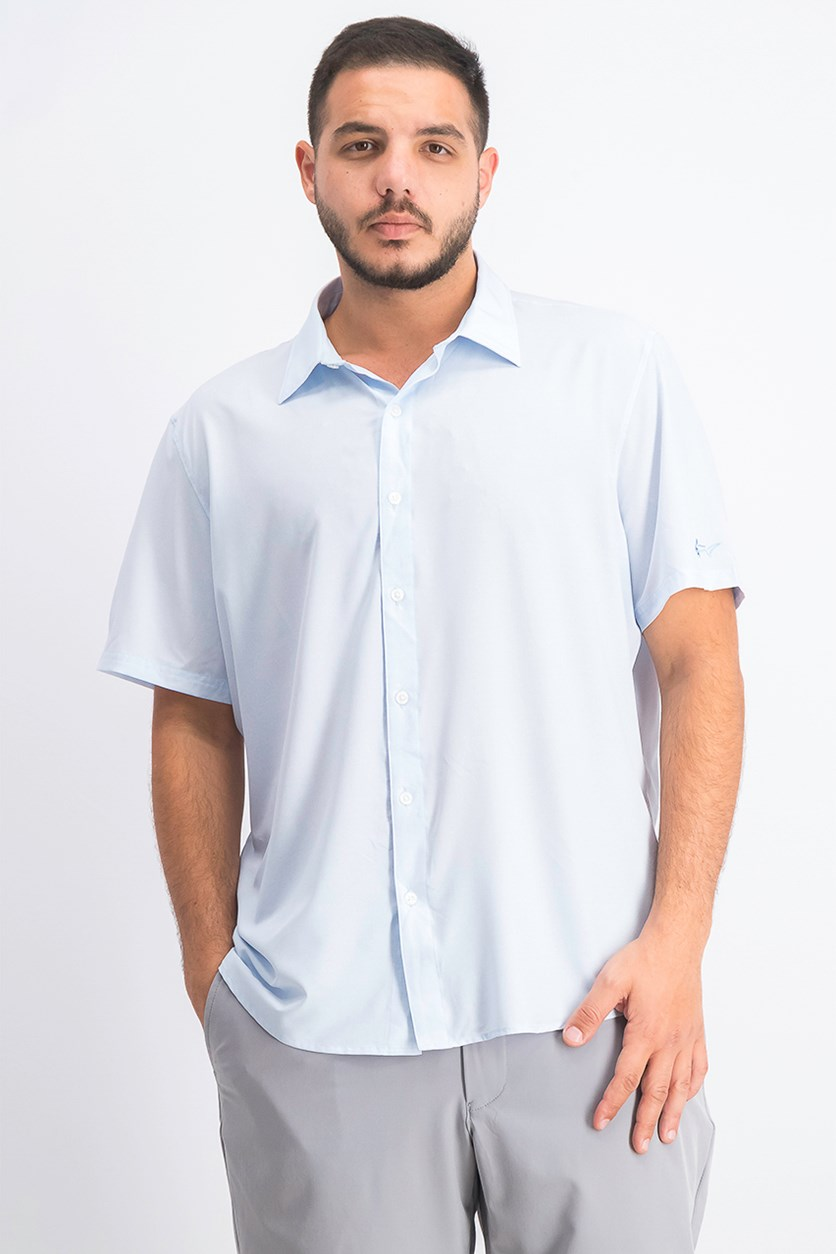 Men's Golf Shirt, Pale Spring