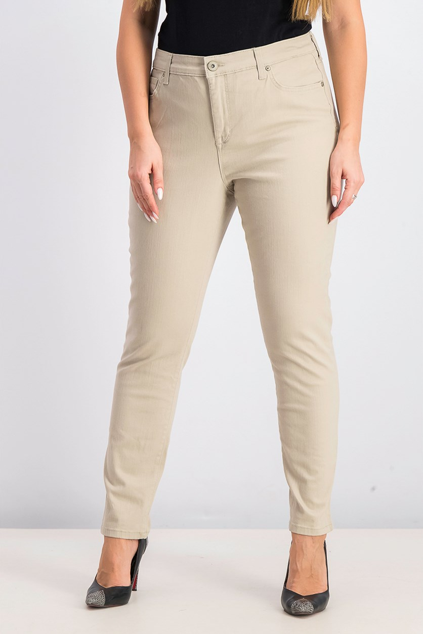 Women's Skinny Ankle Pants, Pure Cashmere