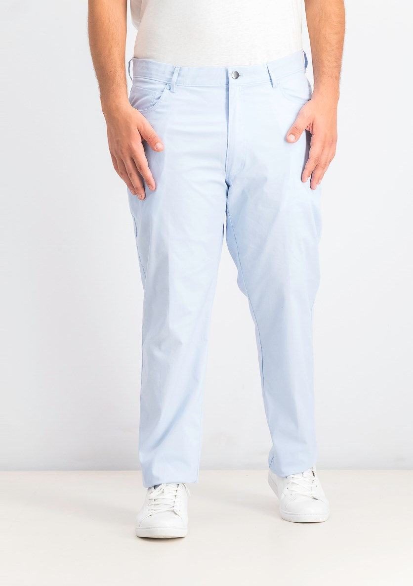 Men's Five-Pocket Performance Pants, Pale Spring