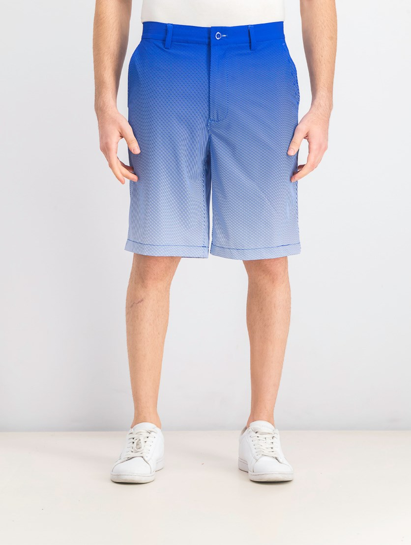 Men's Halftone Fade Shorts, Real Cobalt