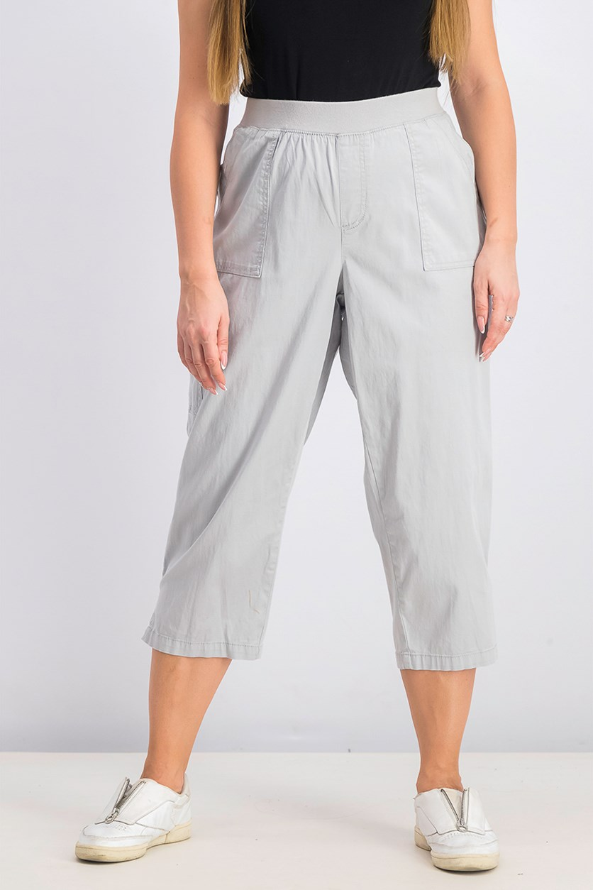 Women's Pull-on Utility Capris, Misty Harbor