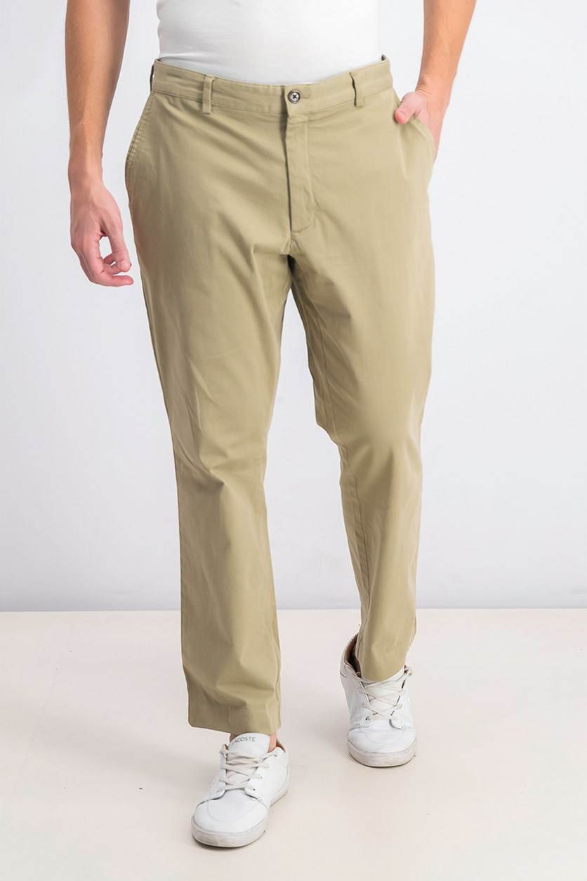 Men's Luca Flat-Front Stretch Pant, Rustic