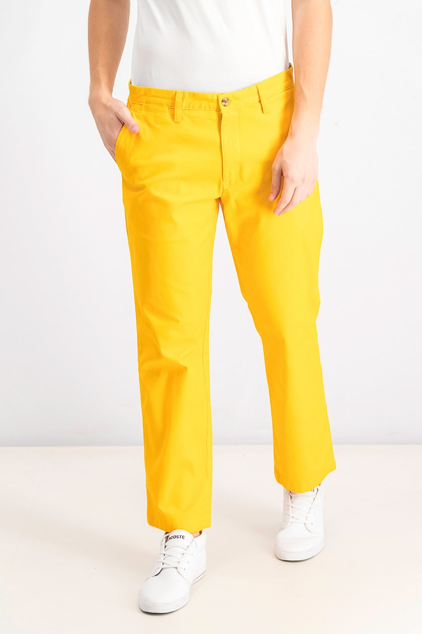 Men's Stretch Chinos, Semolina