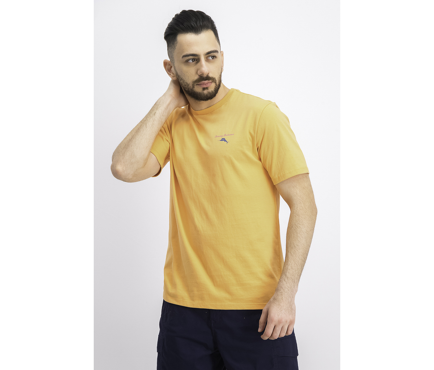 Men's Beached Ales Graphic Tee, Bright Apricot