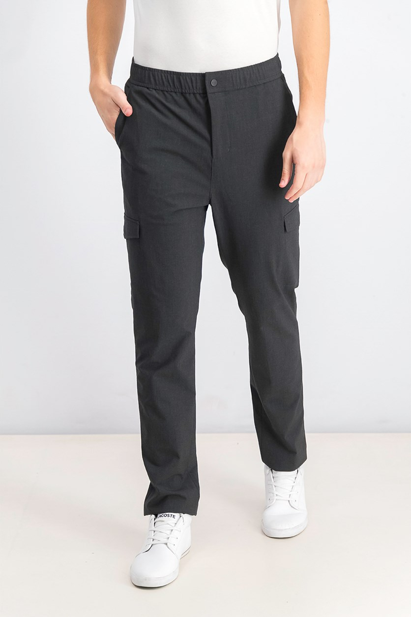 Men's Elastic Tech Cargo Pants, Castlerock