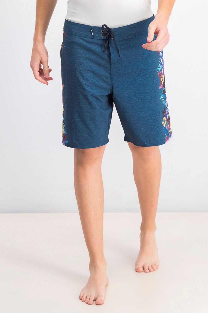 Men's Hyperfreak Tropic Boardshort, Navy Combo