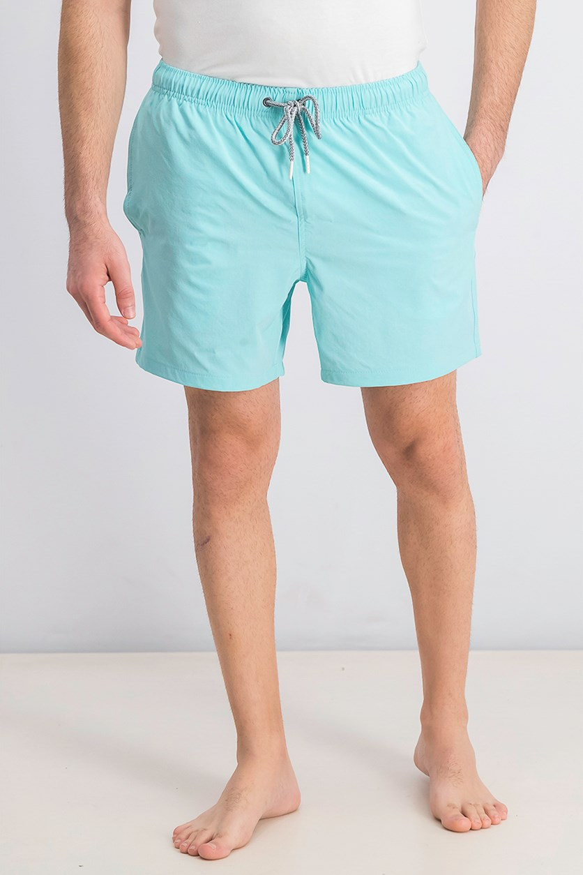 Men's Swim Trunks, Aruba Blue