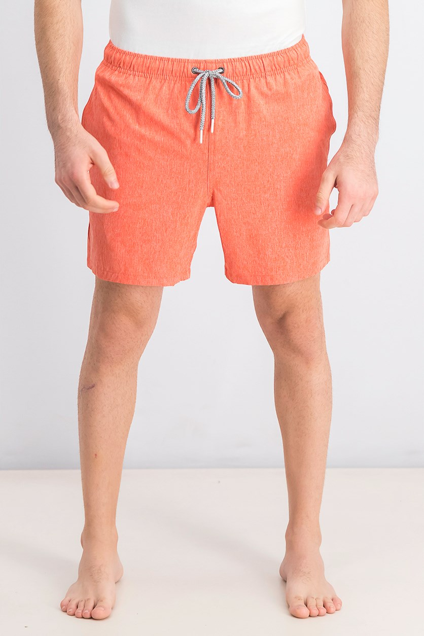 Men's Swim Trunks, Spicy Orange
