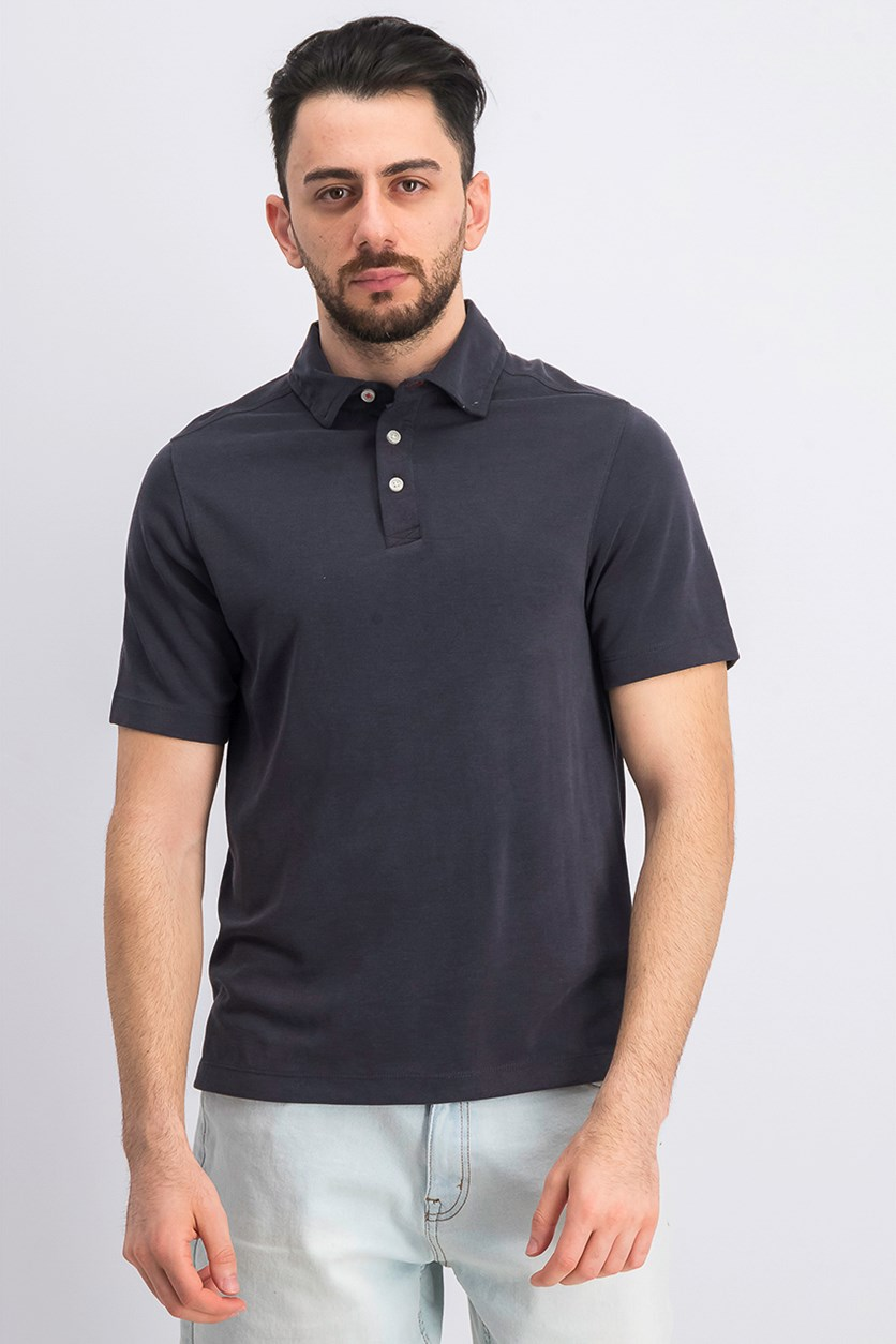Men's Rainforest Solid Polo, Black