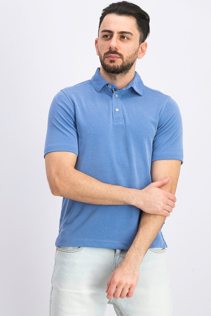 Men's Rainforest Solid Polo, Blue