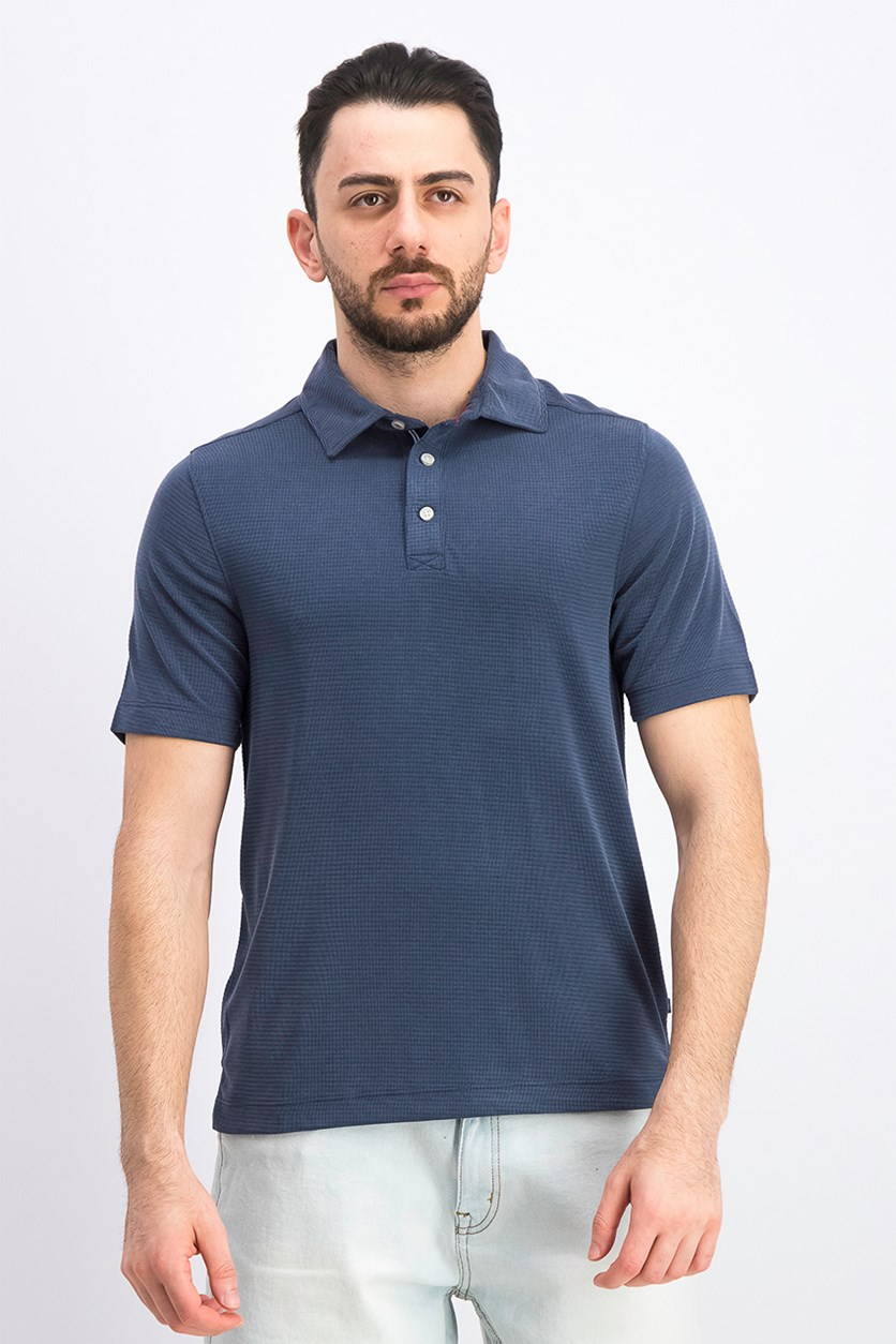 Men's Rainforest Solid Polo, Navy
