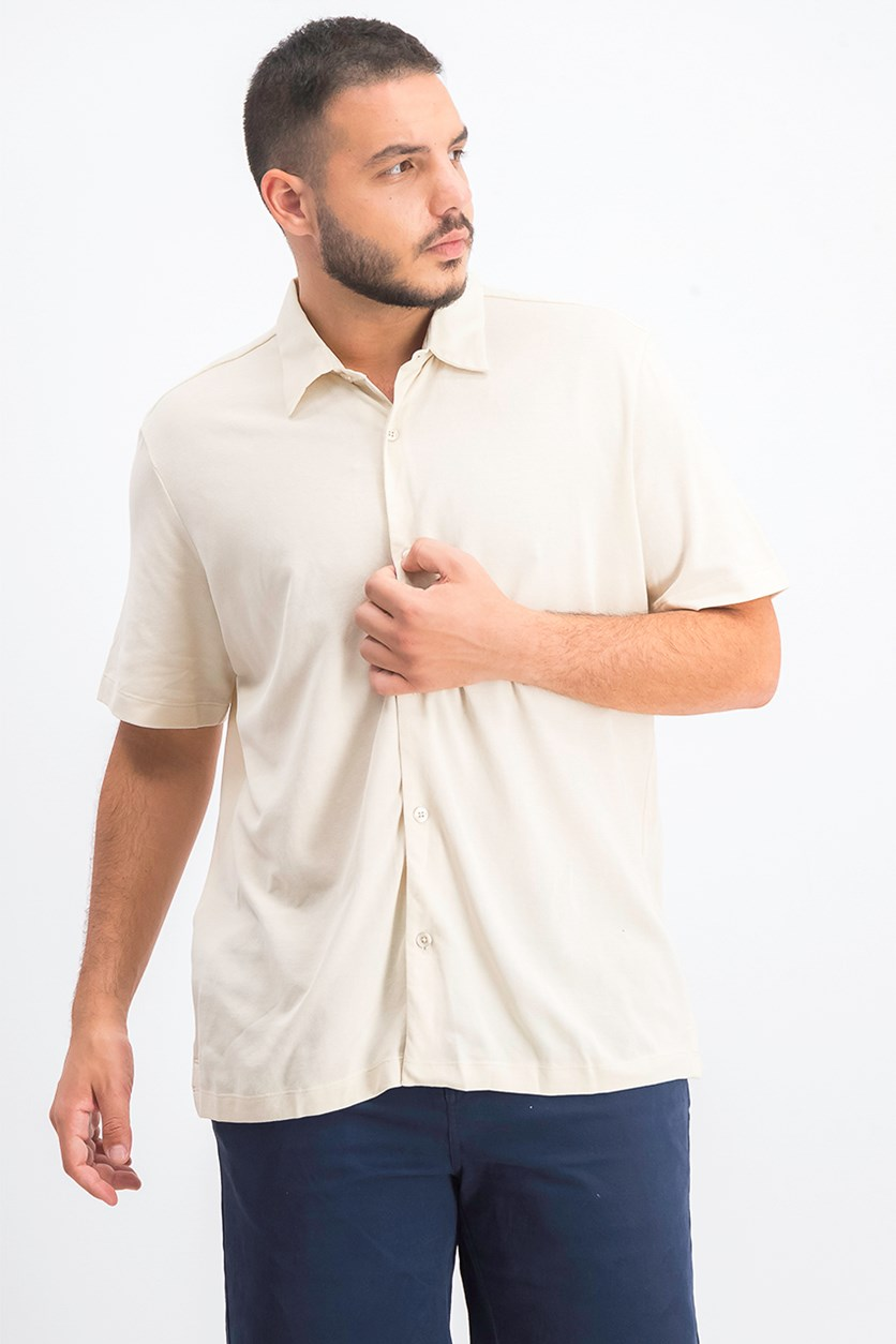Air Pique Pull-Through Slim Fit Polo Shirt, Air Pique