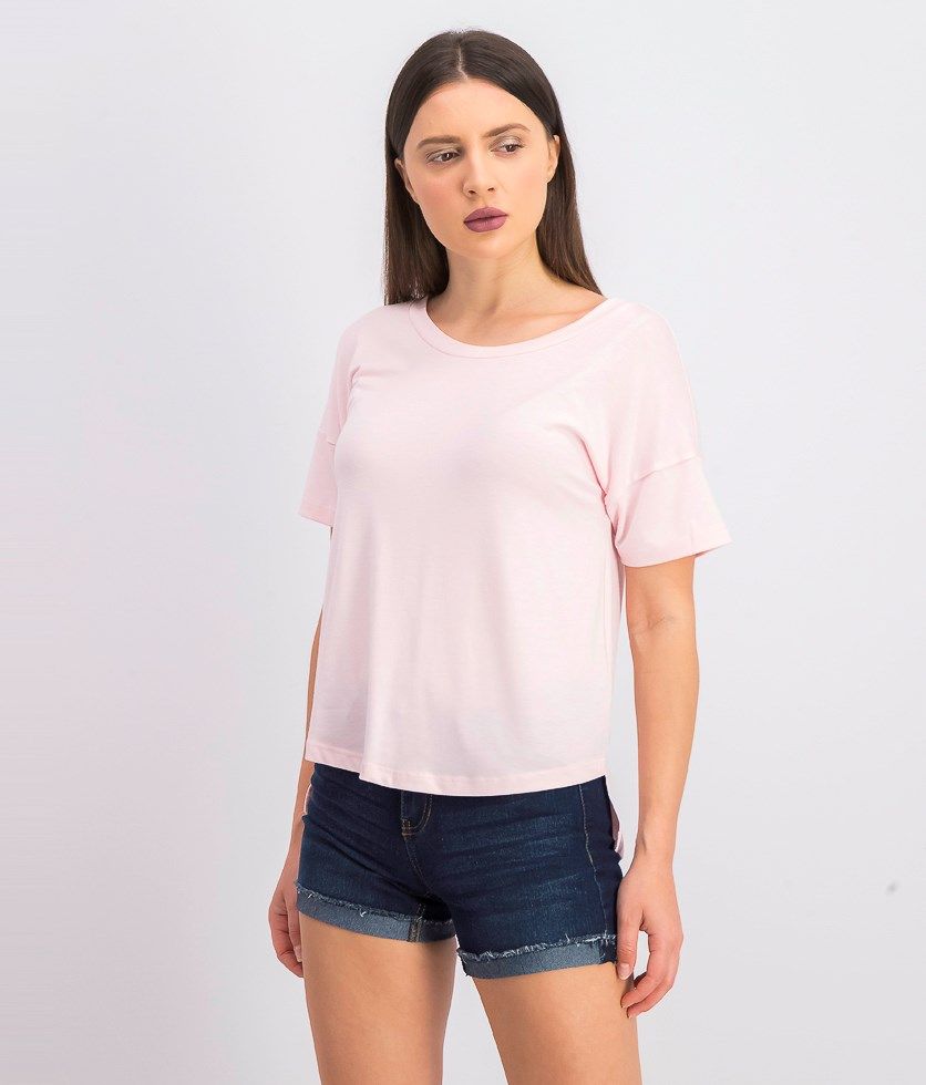 Women's Up All Night Tee, Pink