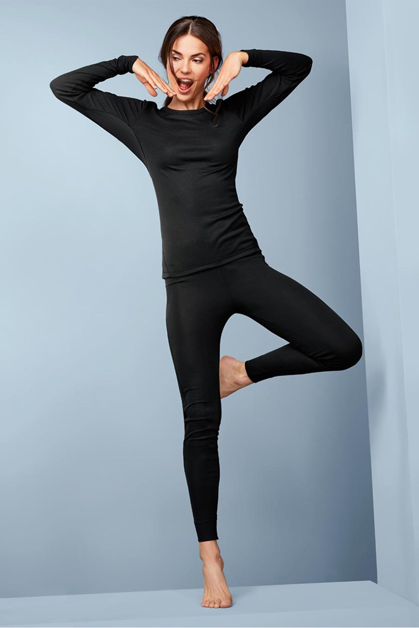 Thermal Functional Underwear, Black
