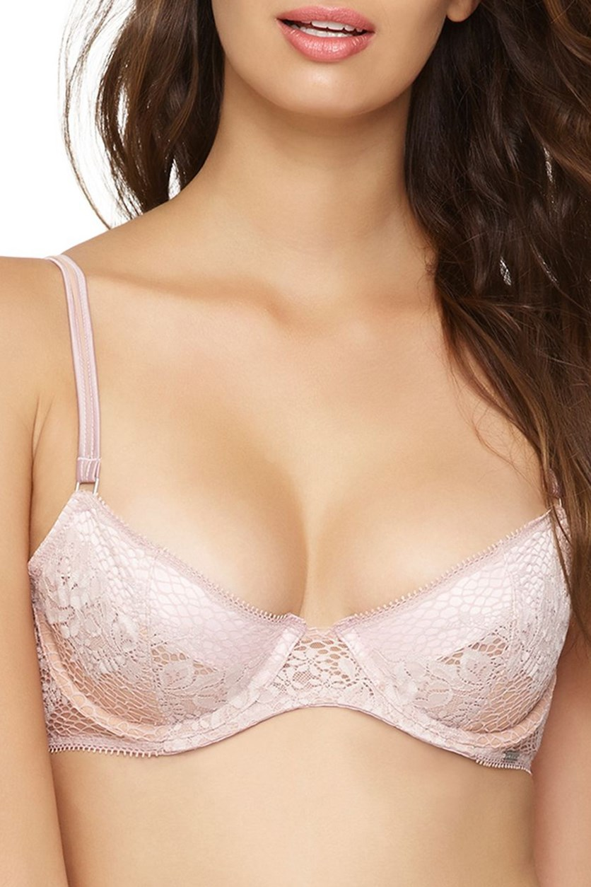 Candy Unlined Demi Cup Bra, Nude