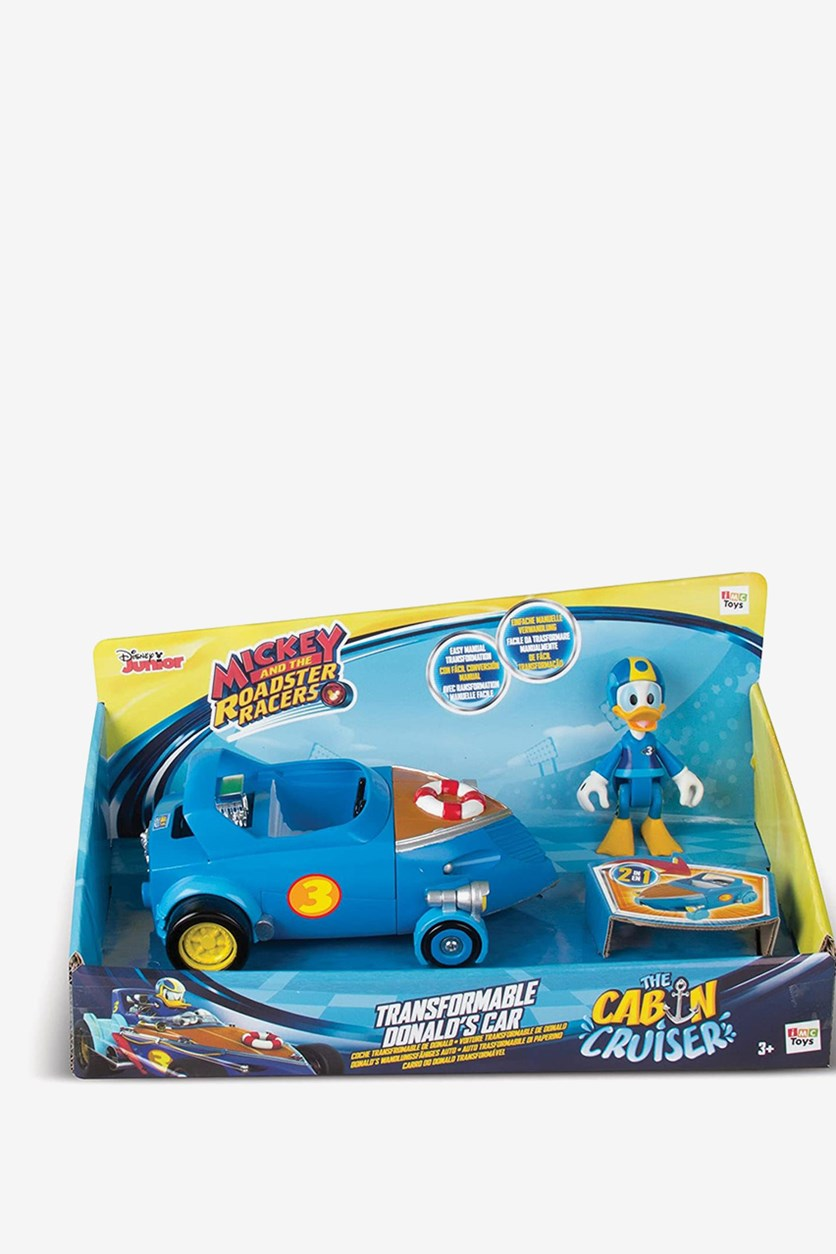 The Roadster Racers Donald's Transformable Cabin Cruiser, Blue Combo