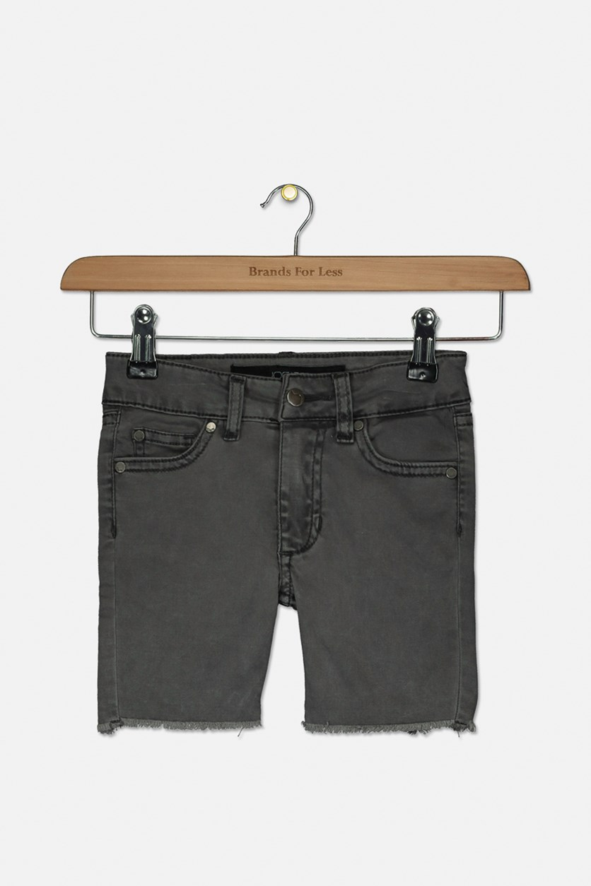 Toddler Boy's Brixton Straight + Narrow Short, Graphite