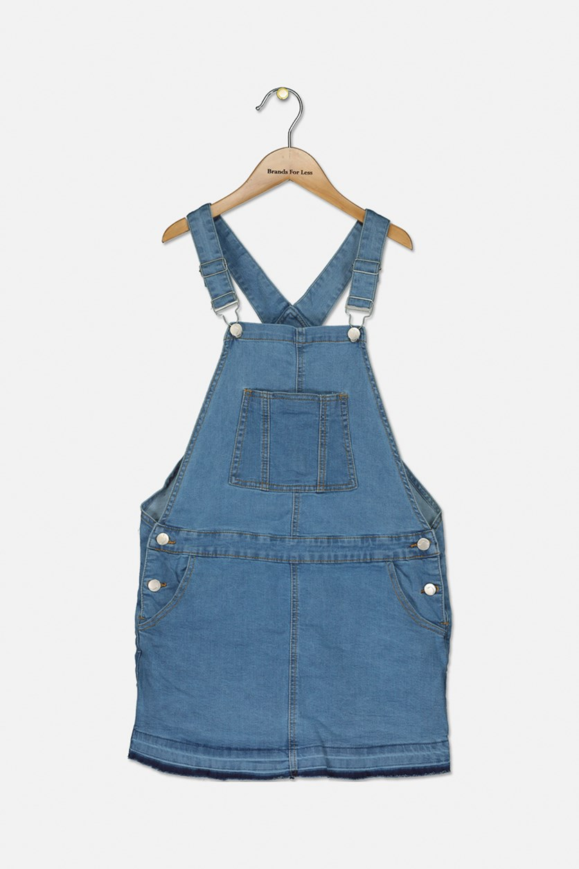 Kids Girls Denim Skirtall, Harley Wash