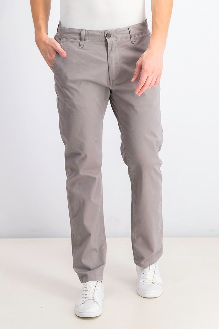 Men's Castleton Chino Pants, Grey