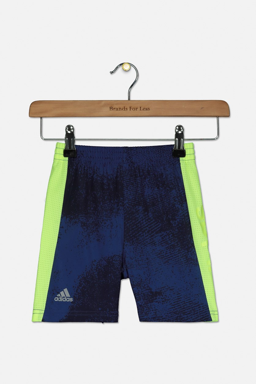 Baby Boy's Fusion Active Shorts, Navy/Yellow