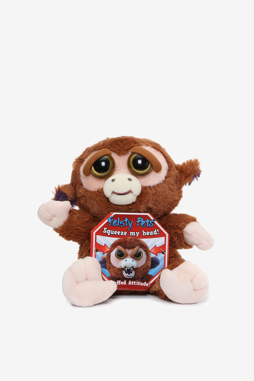 Feisty Pets Monkey, Brown