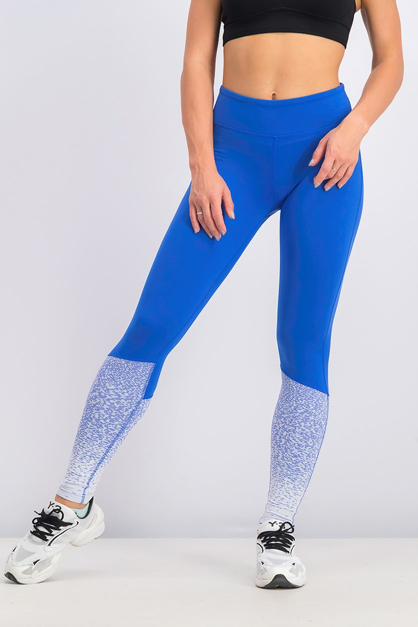 Women's Cross Fit Lux Fade Tights, Blue