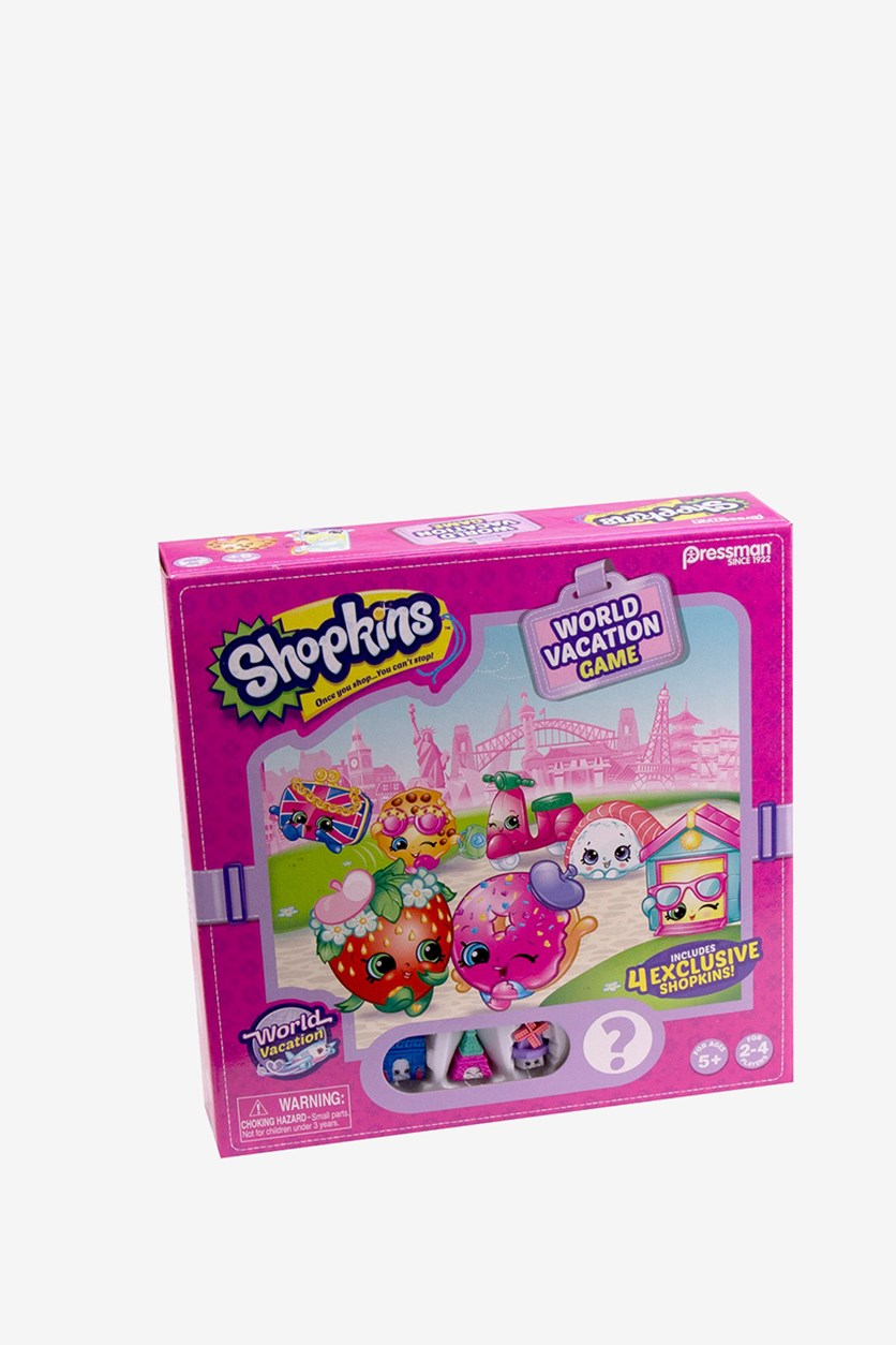 Shopkins World Vacation Game, Pink Combo