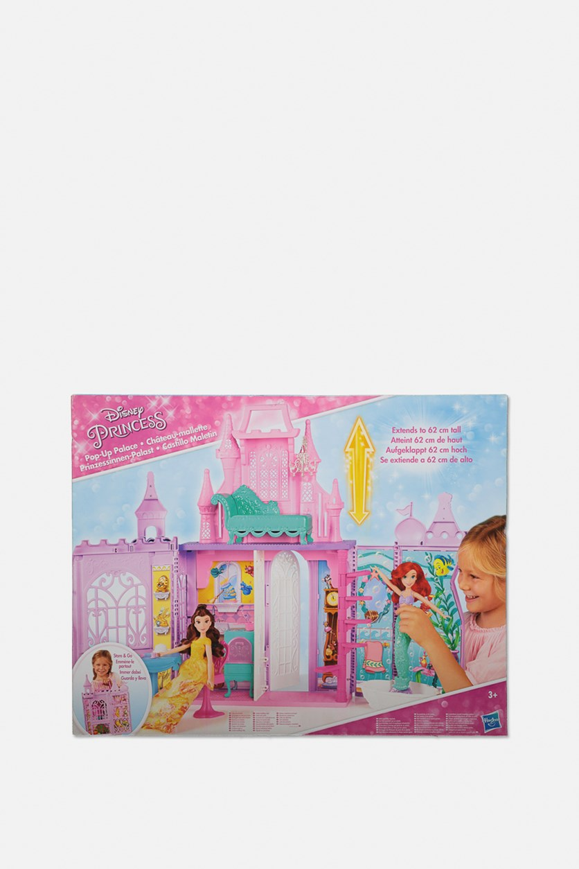 Princess Pack N Go Pop Up Castle Toy, Pink/Purple
