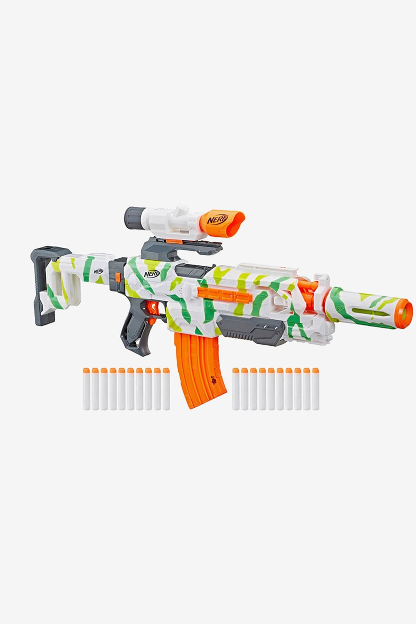Nerf N-Strike Elite Tracker Modulus ECS-10 E7942 Rifle, Blue
