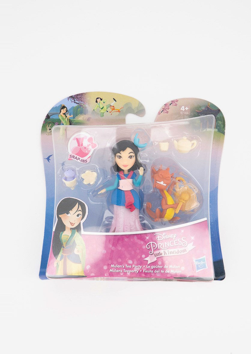 Mulan Doll and Tea Party, Blue Combo