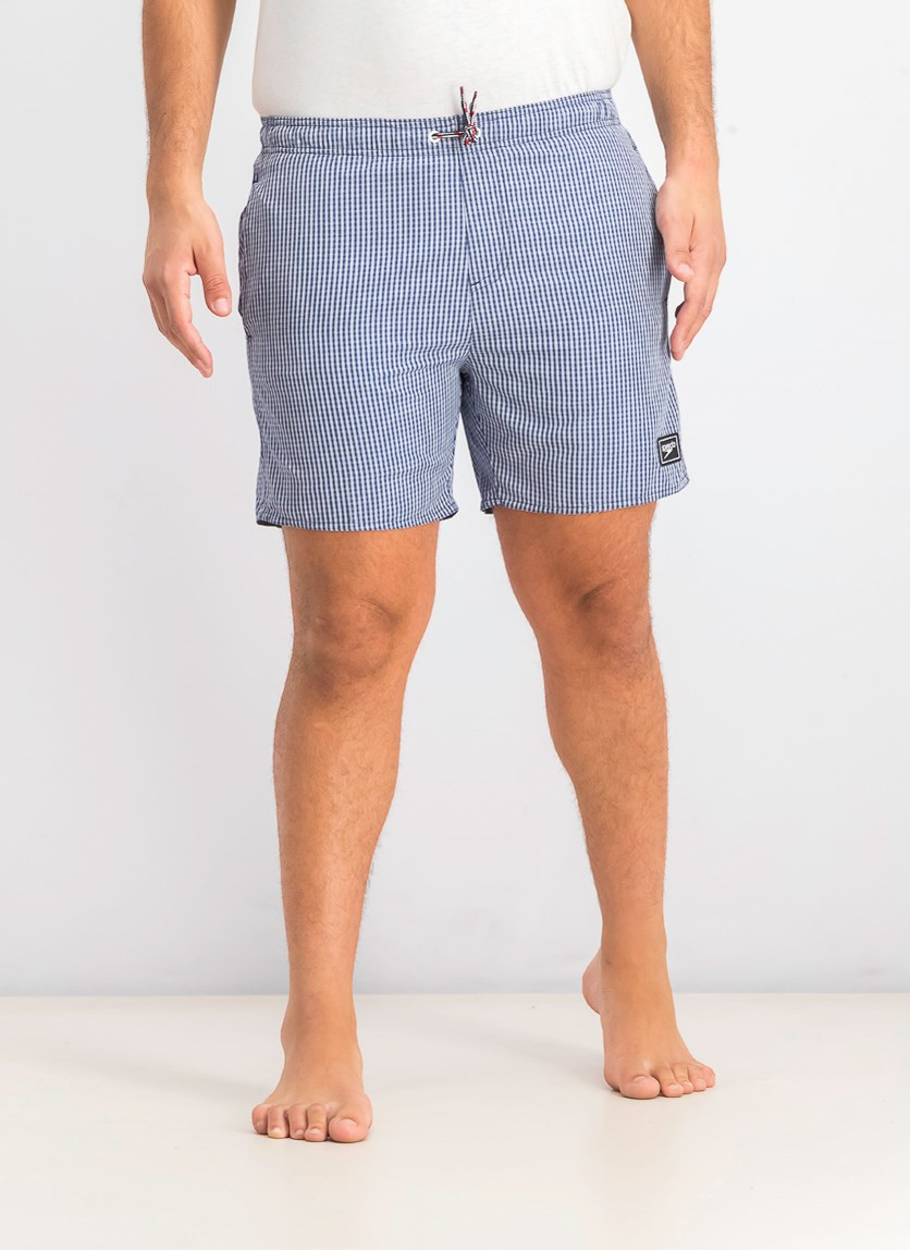 Men's Gingham Leisure 16