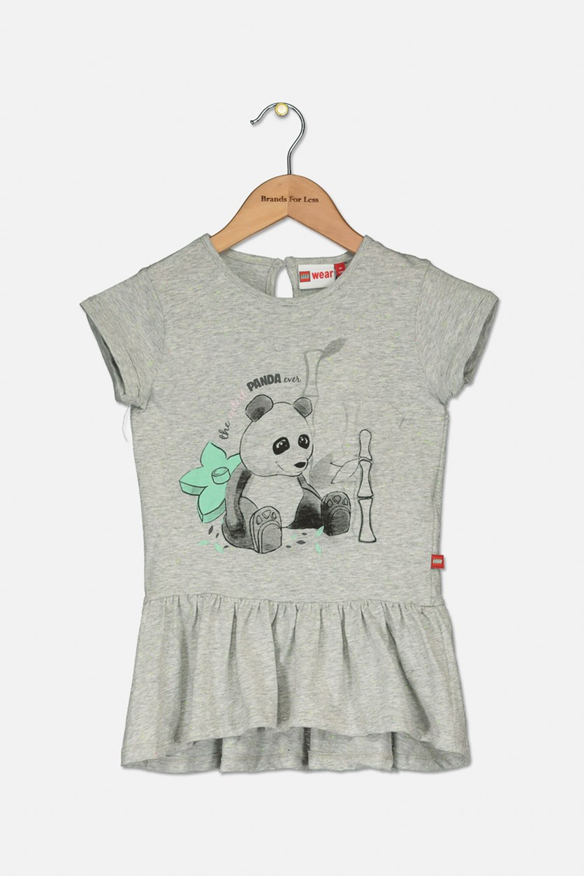 Toddlers Dee 302 Dress, Grey