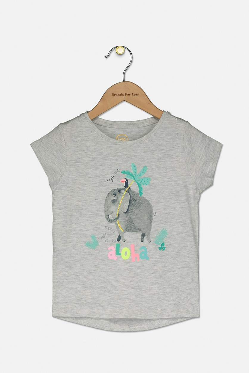Toddlers Graphic Top, Grey