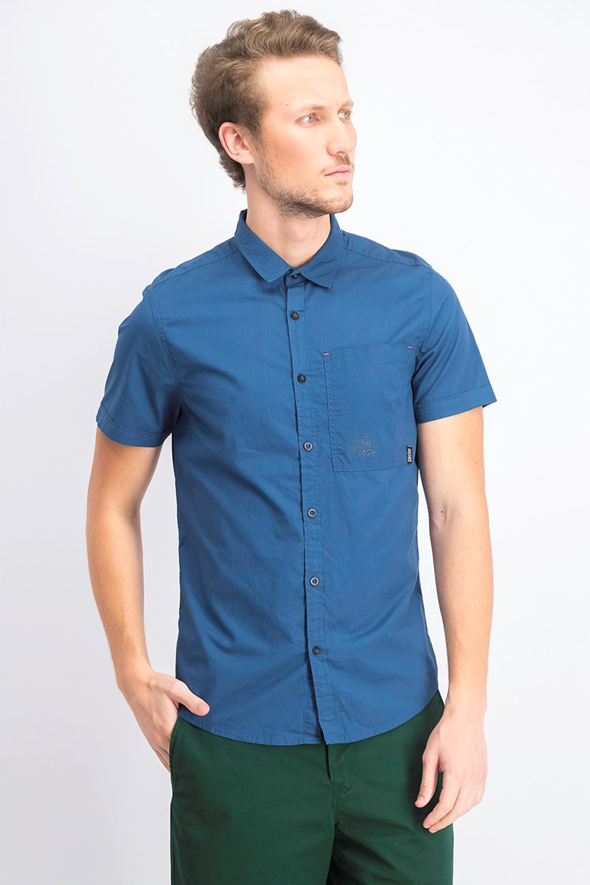 Mens Graphic Shirt, Navy Blue