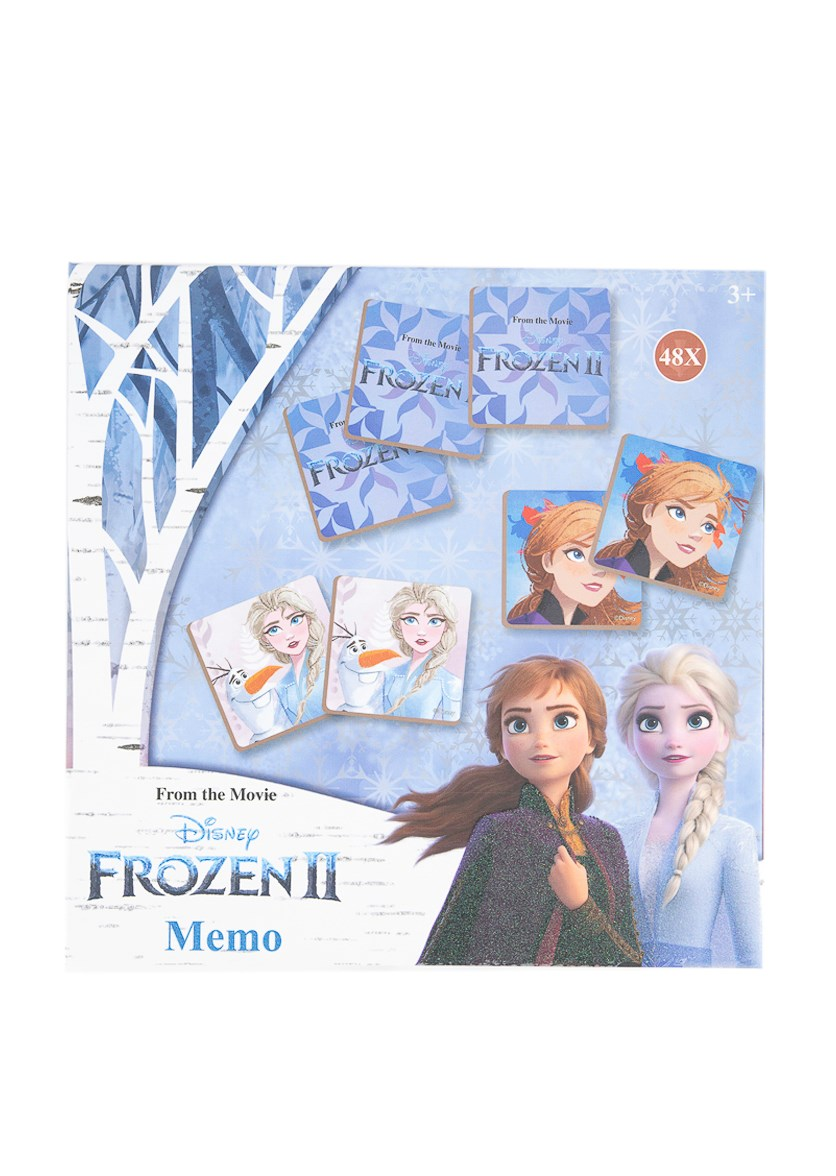 Frozen 2 Memo Game, Blue/White Combo