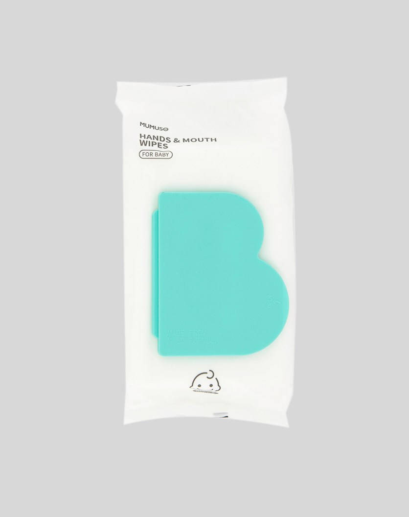 Baby Hands & Mouth Wipes 80 Pcs, White